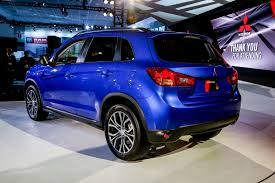 mitsubishi jeep 2016 2016 mitsubishi outlander sport debuts with updated styling