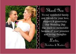 insert photo thank you cards wedding best ideas paper flat ready