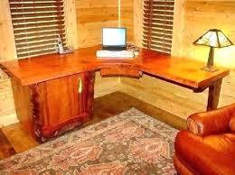 Custom Corner Desks Wooden Corner Desk Bethebridge Co