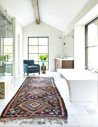Rug In Bathroom Bathroom Runner Rugs Simpletask Club