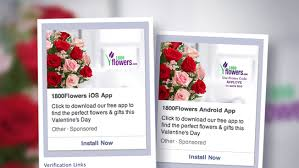 i800 flowers mobile ads push flowers for s day adweek