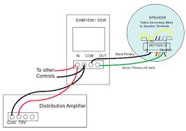 70 volt sound distribution system alectro systems inc