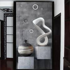 Modern Bathroom Door Custom Hd 3d Photo Murals Wallpaper Modern Creative Painting 3d