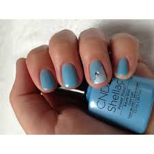 cnd creative nail design shellac power polish azure wish cnd