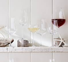 wine glasses schott zwiesel taste wine glasses set of 6 pottery barn