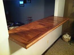 jw s countertop made from left flooring my work