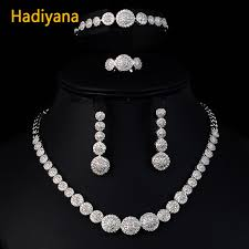 aliexpress necklace set images Hadiyana luxury jewelry set aliexpress with aaa cubic zircon woman jpg