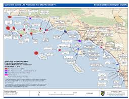 Map Southern California Reef Check Fish U0026 Game Commission Adopts Plan For Mpas In