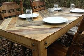 tables made out of pallets kitchen table made from pallets tables made from pallets terrific
