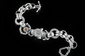chain link bracelet sterling silver images Head sterling silver chain link bracelet br 012 jpg