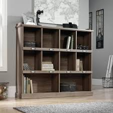 oak tv cabinets with glass doors distressed bookshelf diy traditional wrought iron bakers rack