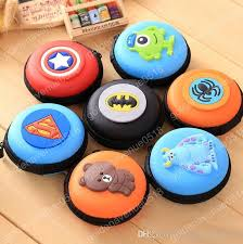 cool cartoon round eva cases waterproof fidget spinner boxes mini
