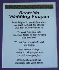 Country Wedding Sayings Scottish Wedding Prayer Scottish Sayings Proverbs Poems