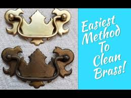 how to clean brass cabinet knobs how to easily clean all brass silver copper metal furniture