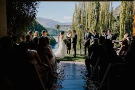 wedding arch hire queenstown queenstown wedding polka dot