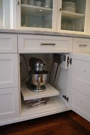 Kitchen Cabinet Lift Yay An Appliance Lift In A Cab With A Drawer Who Makes That