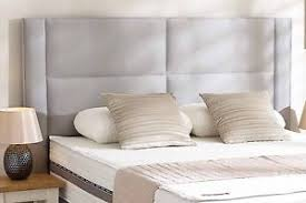 designer headboard cape designer headboard bed head in leather chenille suede