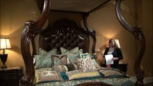 Michael Amini Hollywood Swank Bedroom Victoria Palace Canopy Bedroom Set By Michael Amini Youtube
