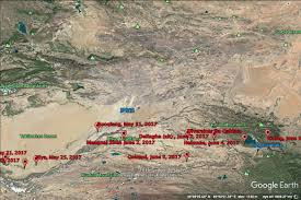 Taklamakan Desert Map All Set Up Trip Through The South Branch Of Silk Road Starts In 8