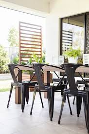 interior appealing wrought iron chairs and table in sunroom best 25 tropical outdoor dining tables ideas on pinterest
