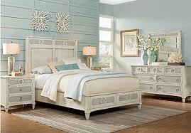cindy crawford home harlowe ivory 5 pc queen bedroom bedroom