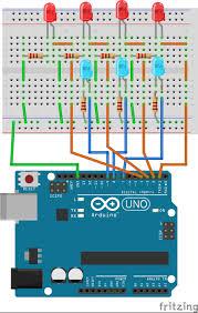 the weird looking arduino clock binary in seconds u2013 mohdshafiqnasir