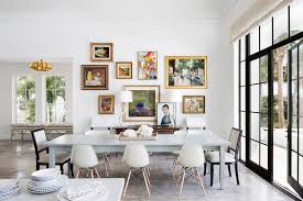 the stylish interior of the house in miami