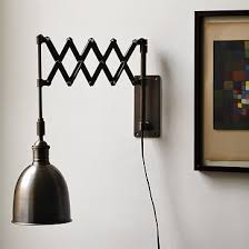 west elm bedroom lighting accordion sconce from west elm potential light for new bedroom if