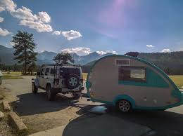 Teardrop Camper With Bathroom T B Travel Trailer Review U2013 Jenn Grover Photography