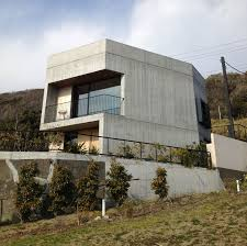 Concrete Home Designs Araki Designs A Concrete Home In The Kanagawa Prefecture