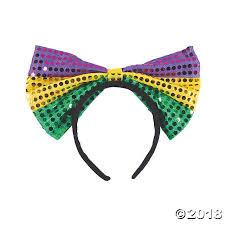 mardi gras headbands mardi gras bow headbands