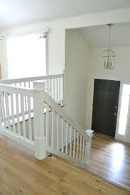 painting wood banister best stair spindles ideas on staircase