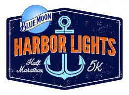 harbor lights half marathon blue moon harbor lights half marathon and 5k