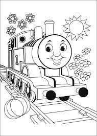 coloring thomas train thomas train blown