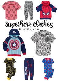 clothing for boys lifestyle marvel