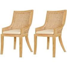 Rattan Kitchen Furniture Rattan Dining Chairs Ebay