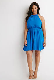 classic halter dress forever 21 plus 2000131344 this is really