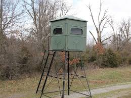 Deer Hunting Tower Blinds Redneck The Trophy Tower 5x5 Crossover Blind For Sale In Little