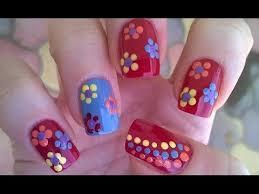 198 best flowers nail art designs images on pinterest flower