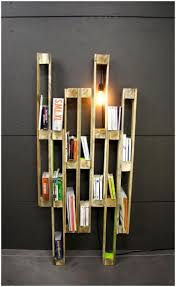 design shelf talkers pallet creative shelf creative book storage