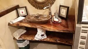 Walnut Vanity Vanities Figured Black Walnut Lumber Live Edge Furniture
