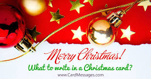 christmas messages for mother card messages