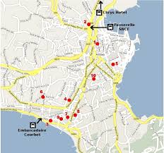 map of antibes adhoc now 2008 practical informations