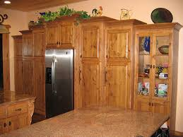 Kitchen Pine Cabinets Inexpensive Yet Authentic Knotty Pine Cabinet U0027s Kitchenware Rta