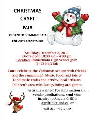 vendors needed christmas craft fair december 2nd