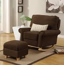 Gliding Chairs For Nursery Sofa Elegant Brown Rocking Chair For Nursery Baby Glider Design
