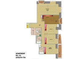 princess tower floor plans dubai marina property for sale rent level 7 70 apartment 3 3 bedroom type a