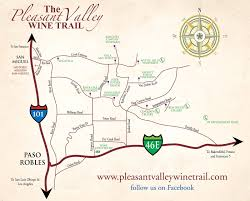 paso robles winery map oh the places we ll see chariots wine tours in paso robles