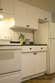 kitchen cabinet transformations rustoleum cabinet transformations apartment progress diy show