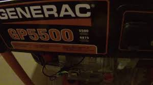 generac gp5500 watt generator un boxing and assembly youtube